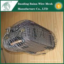 2015 alibaba china Herstellung flexible Seil Mesh für Anti-Diebstahl-Tasche Metall Mesh-Tasche