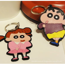 Popularly Fashion Customize Silicone Rubber Keychain From Manufacture
