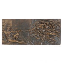Relief Brass Statue Myth Fairy Relievo Deco Bronze Sculpture Tpy-837