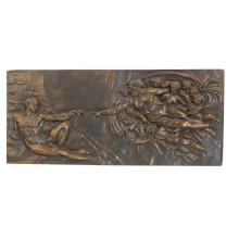 Relief Brass Statue Myth Fairy Relievo Deco Bronze Sculpture Tpy-837
