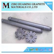 rotor de grafito con alto contenido de carbono