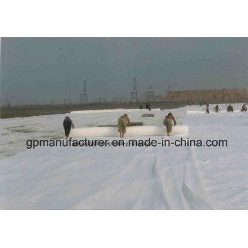 150G / M2 Poliéster não tecido geotêxtil