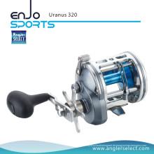 Angler Select Uranus A6061-T6 Aluminium Körper 5 + 1 Lager Seefischerei Trolling Reel Fishing Tackle (Uranus 320)