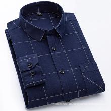 Camisa de flanela 100% algodão
