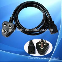 Saudi Arabia standard VDE power cord 220v power cord cable 10/16a 250v europe power cord