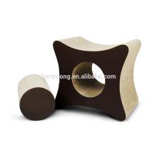 Umweltfreundlicher netter Pappenkatzen-Kratzer, Fuß-Katzen-Kratzer-Aufenthaltsraum Pappe CT-4048