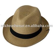 Chapeaux de paille en papier de mode pour adultes