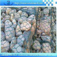 Imperméable à l'alkyde Gabion Wire Mesh Protect Roadway