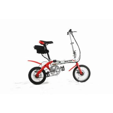 Bicicleta elétrica dobrável de 14 polegadas