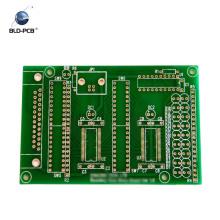 Digital-Uhr 2 Schicht 1 OZ 1,6 mm FR4 Kupfer plattiertes Laminat Bleifrei HASL 94v0 PCB Board