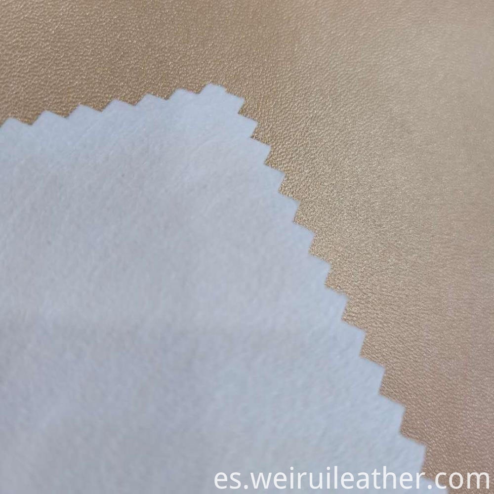 Thicken Lambwoven Pu Leather