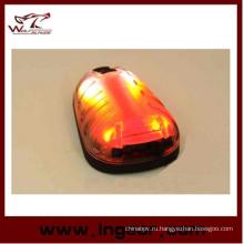 Тактические водонепроницаемый безопасности красный свет фар выжить свет