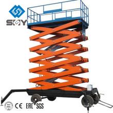 Plataforma de trabajo aérea de la venta caliente, diseño de la elevación de tijera