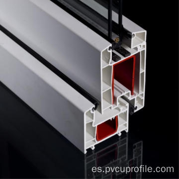 Casement Plastic Pvc-u Profile para Windows