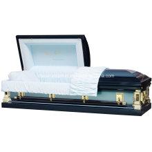 Bleu God′s soins 18 Ga cercueil d'acier