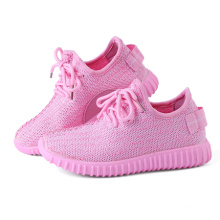 Chaussures décontractées pour enfants en couleur rose