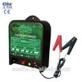 energizador eléctrico solar y de la batería