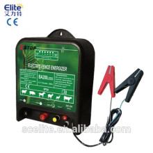 solar and battery electric energizer