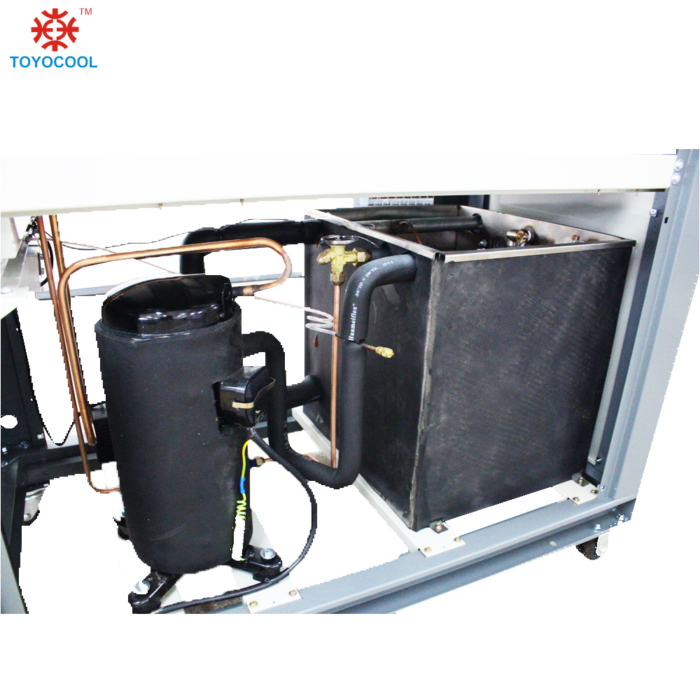 Water cooled chiller water cooling