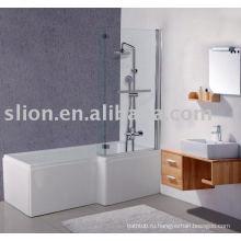 L форма акриловая ванна, детская ванна, квадратная акриловая ванна