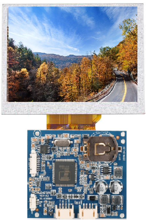 AUO 3 Inch TFT-LCD A030VAN03.0