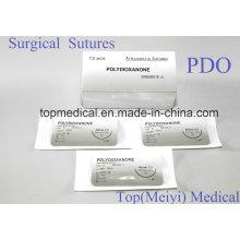 Хирургический шов с иглами - полидиоксанон