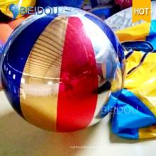 Espejo decorativo del globo Esfera flotante del espejo del disco que flota