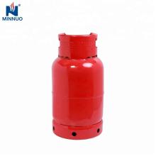 Botella del cilindro del propano del gas del lpg de acero del dominica de 12.5kg