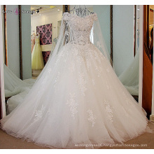 LS87223 white alibaba lace up ball gown wedding dress philippines taobao wedding party dress