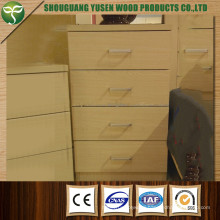 Wooden MDF Melamine Cheap Bedroom Furniture with Best Price