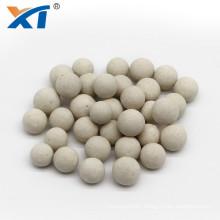 Inert Alumina Catalyst Support Media Water Filter 23-26% Ceramic Ball