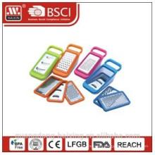 Plastic multi function grater
