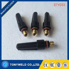 Tig17 / 18/26 peças sobressalentes de soldagem 57Y03 tampa traseira média WP-17/18/26 57Y03