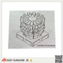 Ткань для чистки оптических линз из микрофибры для печати по индивидуальному заказу