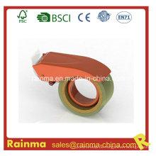 Orange Blue 65mm Wide Packing Sealing Klebeband Cutter Dispenser