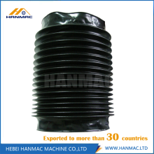 Plastic Round Type Bellow Cover Waterproof Protective Cover