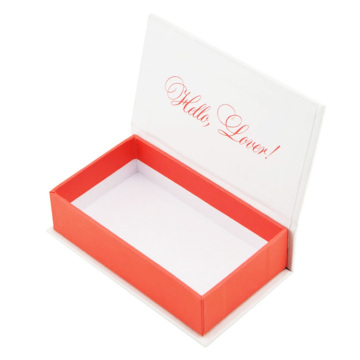Custom False Eyelash Packaging Presentpapper