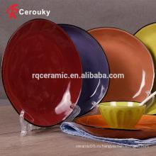 Керамическая плита из микроволновой печи и посудомоечной машины овальная пластина