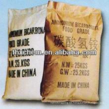 Polvo de bicarbonato de amonio en polvo