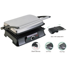 4-Slice Press Grill Panini Maker Healthy Grill Low Fat Grills
