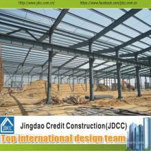 Bâtiment Jdcc1050 à faible coût et haut de gamme en acier