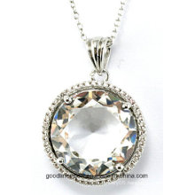 Special Design and 2015 Round Pendant Popular Manufacture Supply Sillver Pendant P4994