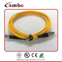 Singlemode G.652 Fiber Patch Cord SMA FC In Telecommunication Networks