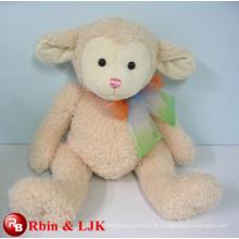Treffen Sie EN71 und ASTM Standard ICTI Plüsch Spielzeug Fabrik Plüsch rosa Schaf Spielzeug