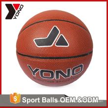 YONO usine en gros basket formation équipement coloré taille 2 3 5 6 7 basket en caoutchouc personnalisé pour la formation de basket-ball
