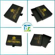 Custom Matte Cardboard Slide Black Gift Box