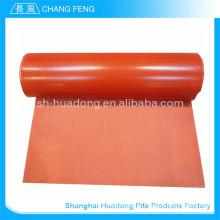 Dernier chiffon de silicone de qualité supérieure de conception enduit fibre de verre
