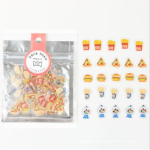 Mode Kawaii Transparent Mini Candy Vinyl Aufkleber Pack