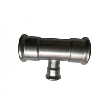 Precio de fábrica DIN Tee Pipe Press Fittings