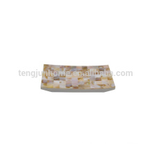 hotel decorative washroom seashell towel holder
